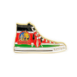 Pathfinder Chosen Sneaker Pin (Kenya) - Pinfinder Club