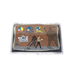 The Battle is the Lord's Giant 6 Piece Puzzle Pin Set (Protective Case) - Pinfinder Club