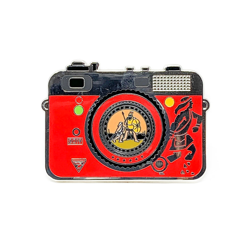 Chosen 2019 Pathfinder Camera Pin (Red) - Pinfinder Club