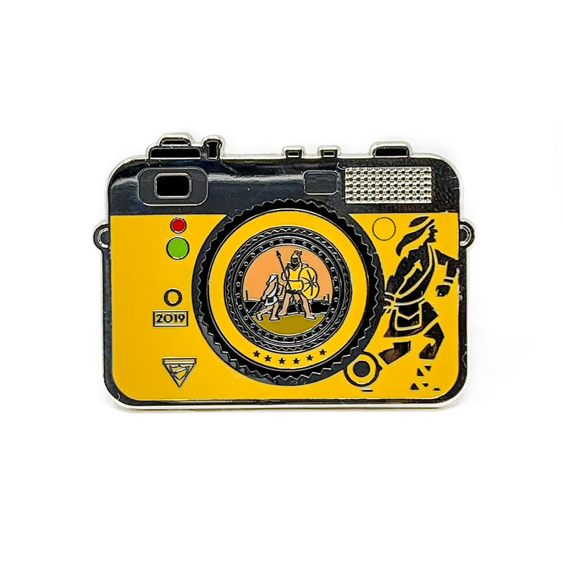 Chosen 2019 Pathfinder Camera Pin (Yellow) - Pinfinder Club