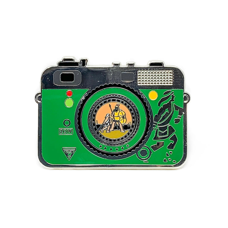 Chosen 2019 Pathfinder Camera Pin (Green) - Pinfinder Club