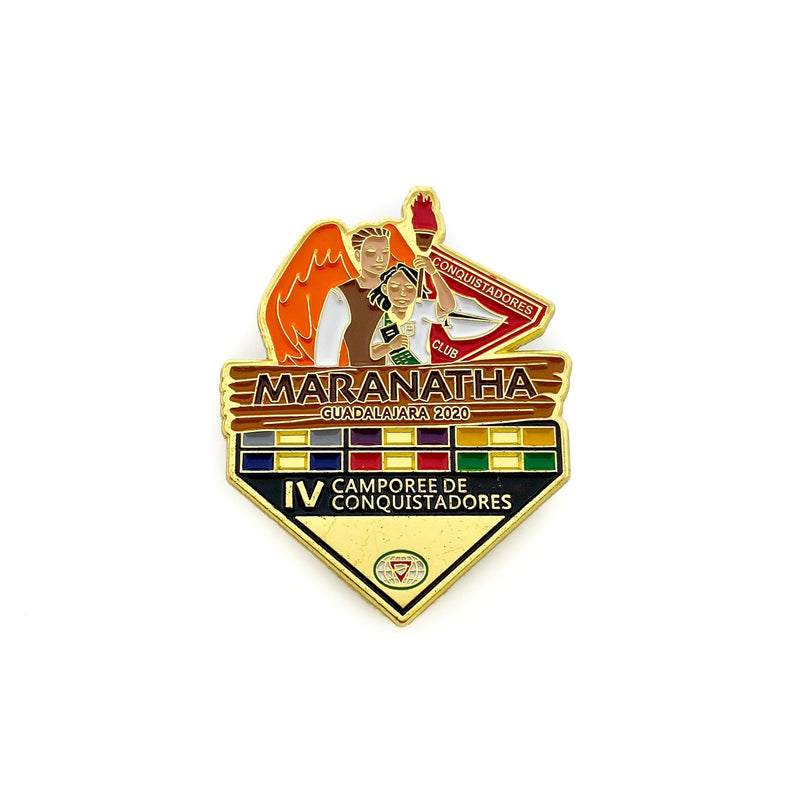 Maranatha Guadalajara Pathfinder Camporee 2020 Pin