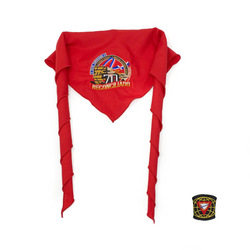 Dominican Republic Union Pathfinder Reconciled Scarf & Slide (Red)