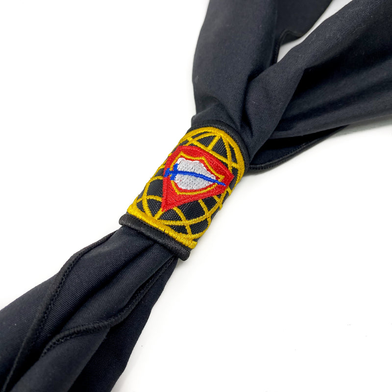 Dominican Republic Union Pathfinder Reconciled Scarf & Slide (Black)