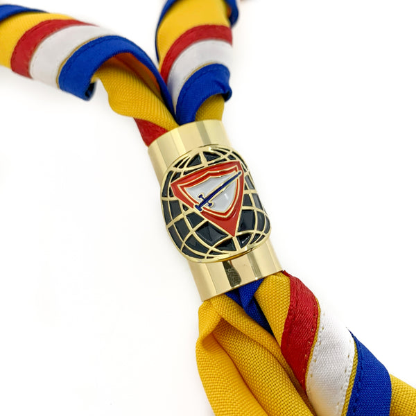 Pathfinder Club Gold Metal Tube Slide & Scarf