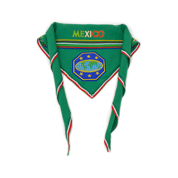 Mexico Master Guide Scarf & Slide (Green) - Pinfinder Club