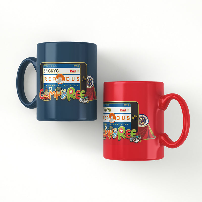 GNYC Virtual Camporee Full Color Panoramic Mug