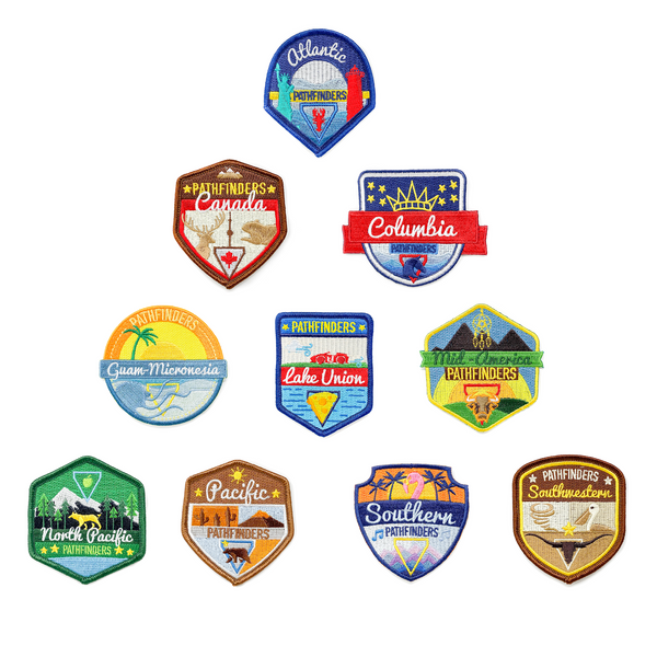 Oshkosh 2019 Union Pathfinder Patches (Bundle) - Pinfinder Club