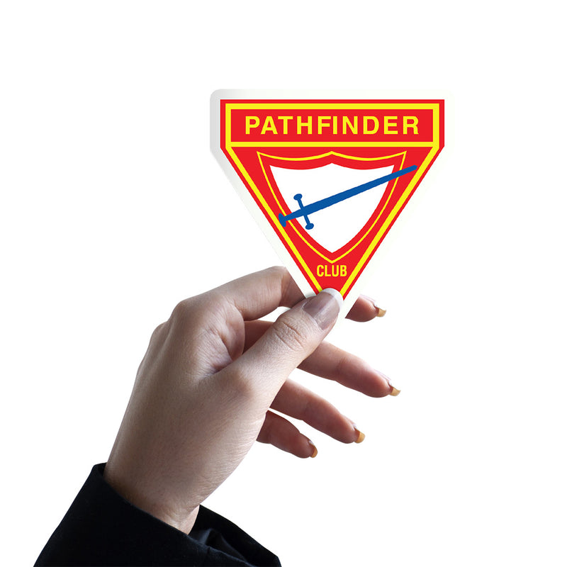 Pathfinder Club Sticker - Pinfinder Club