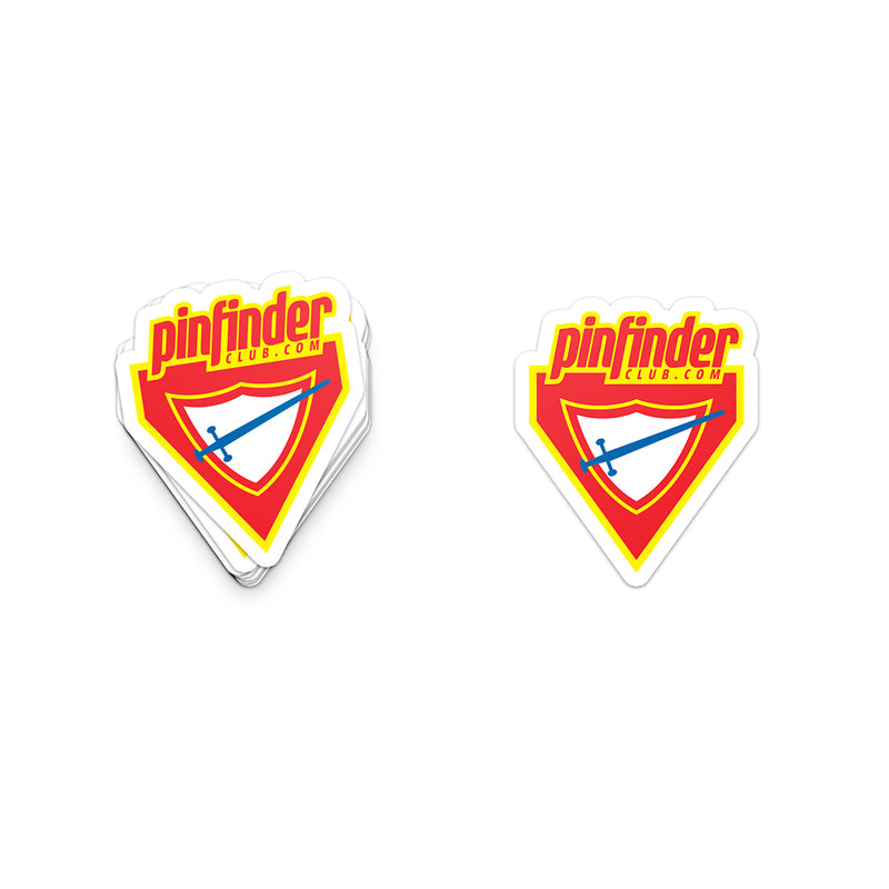 Pinfinder x Pathfinder Logo Sticker - Pinfinder Club
