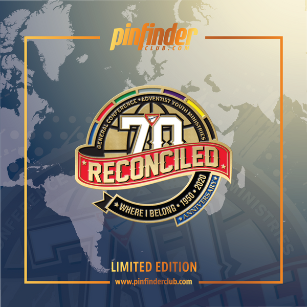 GC Reconciled World Pathfinder Day 2020 Pin - Pinfinder Club