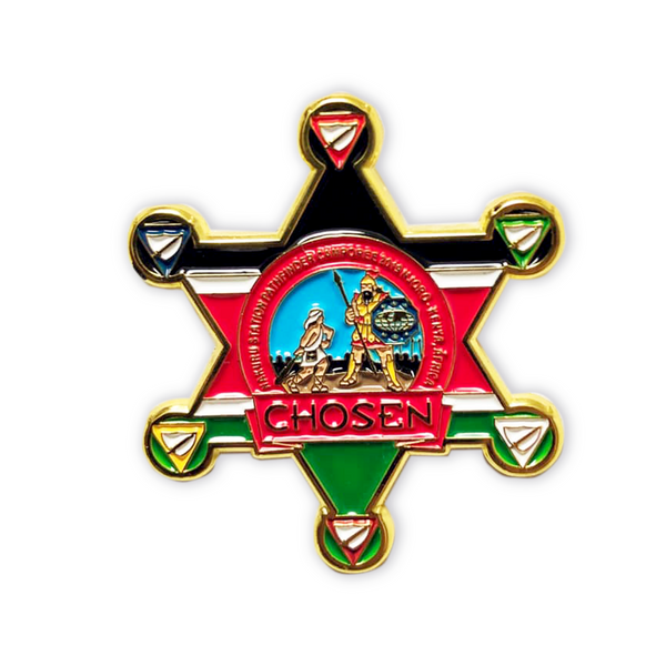 Chosen Kenyan Pathfinder Star Pin - Pinfinder Club