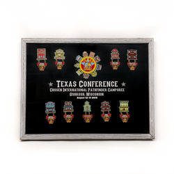 Texas Conference Chosen 2019 Camporee Pin Collection - Pinfinder Club