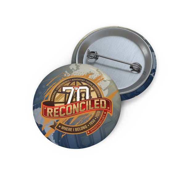 Reconcilded World Pathfinder Day 2020 Pin Buttons - Pinfinder Club