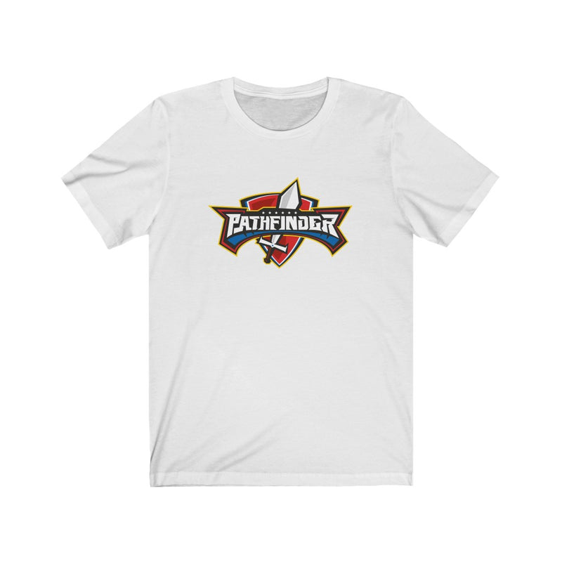 Pathfinder Sword and Shield T-shirt - Pinfinder Club