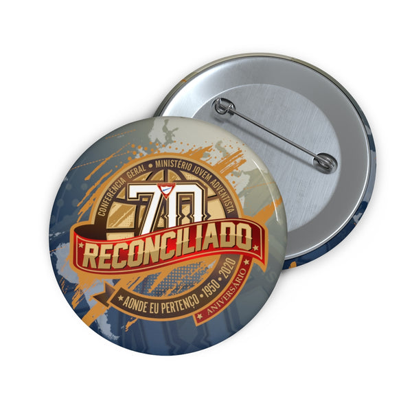 Reconciliado World Pathfinder Day 2020 Pin Buttons (Portuguese) - Pinfinder Club