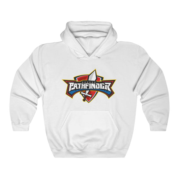 Pathfinder Sword & Shield Hooded Sweatshirt - Pinfinder Club