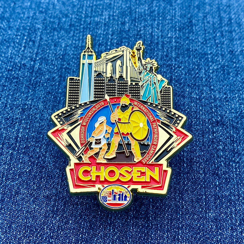 GNYC Chosen 2019 Freedom Pin - Pinfinder Club