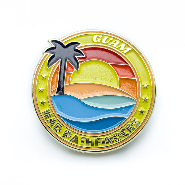 Micronesian Islands Pathfinder Pins (Guam) - Pinfinder Club