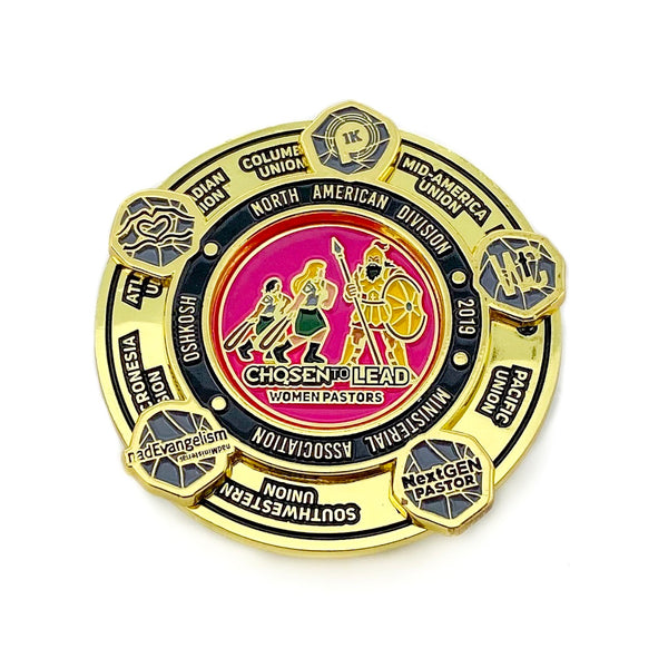 NAD Chosen to Lead Women Pastors Pin (Charity) - Pinfinder Club