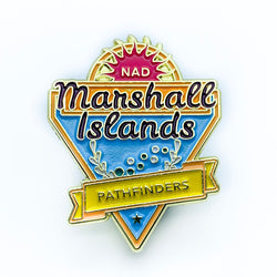 Micronesian Islands Pathfinder Pins (Marshall Islands) - Pinfinder Club