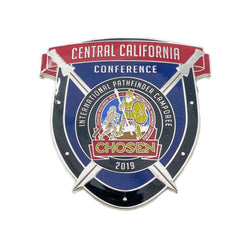 Chosen 2019 Central California Conference Pin - Pinfinder Club