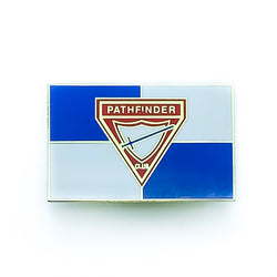 Pathfinder Flag Pin - Pinfinder Club