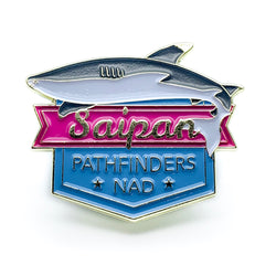 Micronesian Islands Pathfinder Pins (Saipan) - Pinfinder Club