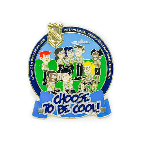Choose to be Cool Pathfinder Camporee Pin - Pinfinder Club