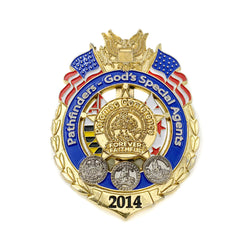 Forever Faithful 2014 Potomac Conference Special Agent Pin - Pinfinder Club