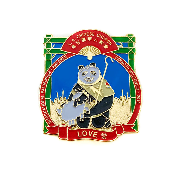 Chosen 2019 Love L.A Chinese Panda Pin - Pinfinder Club