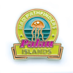 Micronesian Islands Pathfinder Pins (Palau) - Pinfinder Club