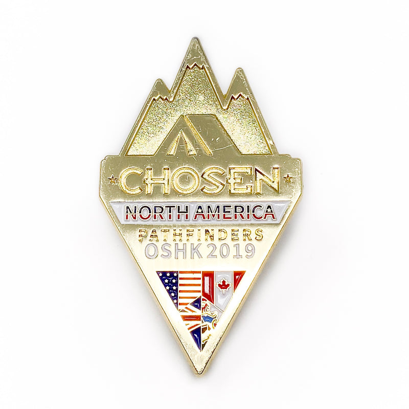Pathfinder North American Division Chosen 2019 Pin - Pinfinder Club