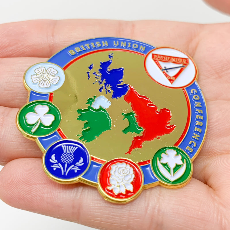 Official British Union Pathfinder Conference Pin - Pinfinder Club