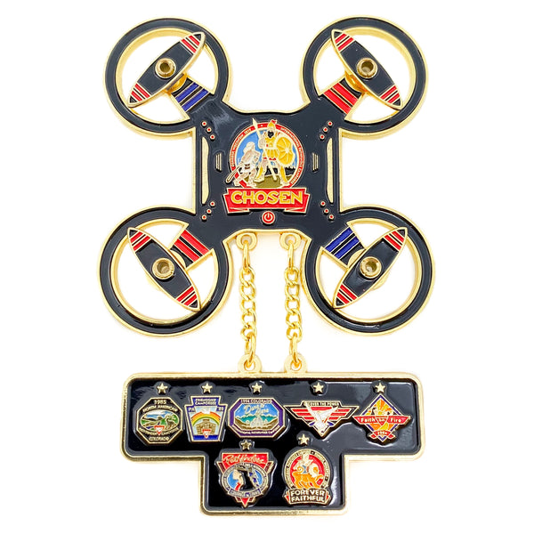 Chosen 2019 Pathfinder Drone Pin (BRL) - Pinfinder Club