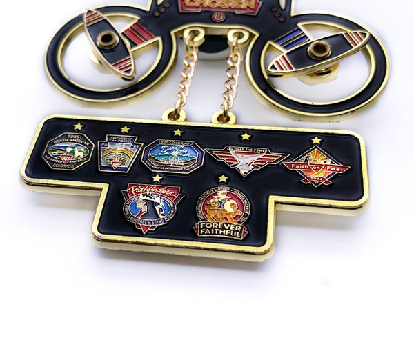 Chosen 2019 Pathfinder Drone Pin (Black) - Pinfinder Club