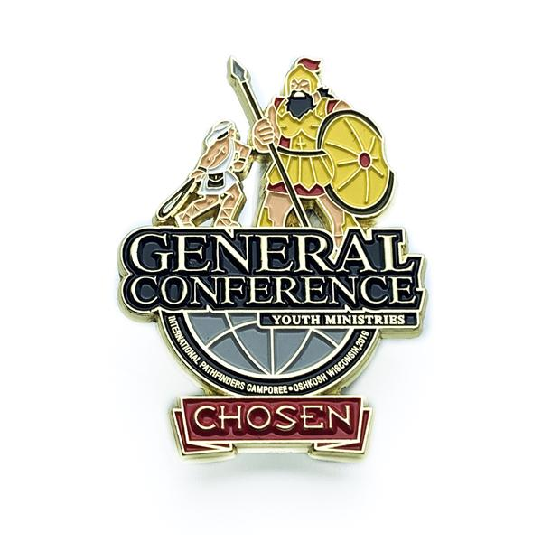 GC Oshkosh Companion Pin (Red) - Pinfinder Club