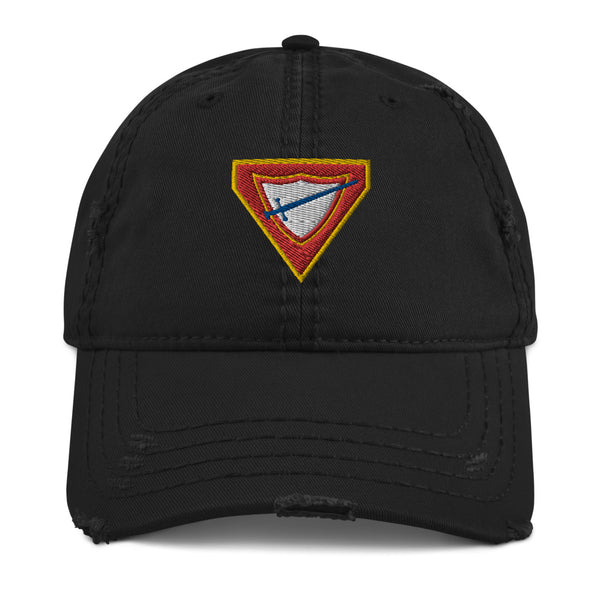 Pathfinder Distressed Dad Hat - Pinfinder Club
