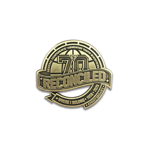 GC Reconciled World Pathfinder Day 2020 Pin (Gold Edition) - Pinfinder Club
