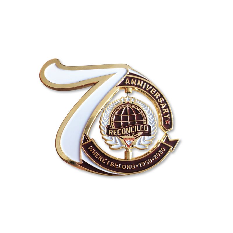 General Conference 70th Year Pin Bundle