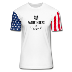 Pathfinders of America Stars & Stripes T-Shirt - white