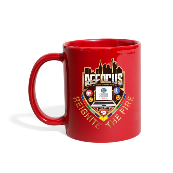 GNYC Virtual Camporee 2020 Refocus Mug - red