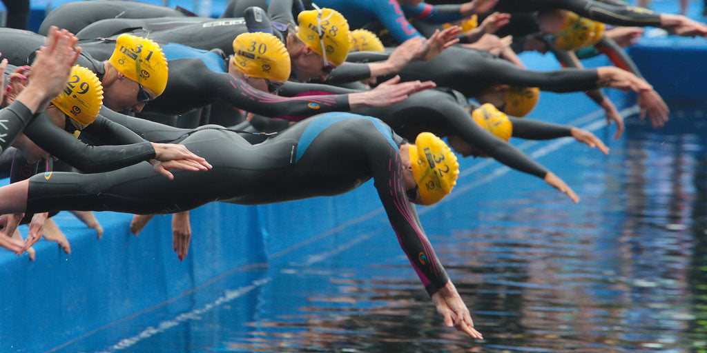 Top Swim Sets of ITU Fish Jess Learmonth