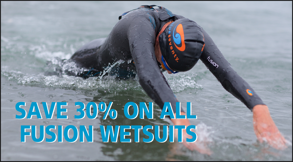 30% off fusion wetsuit