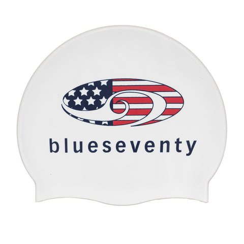 Silicone All American Swim Cap
