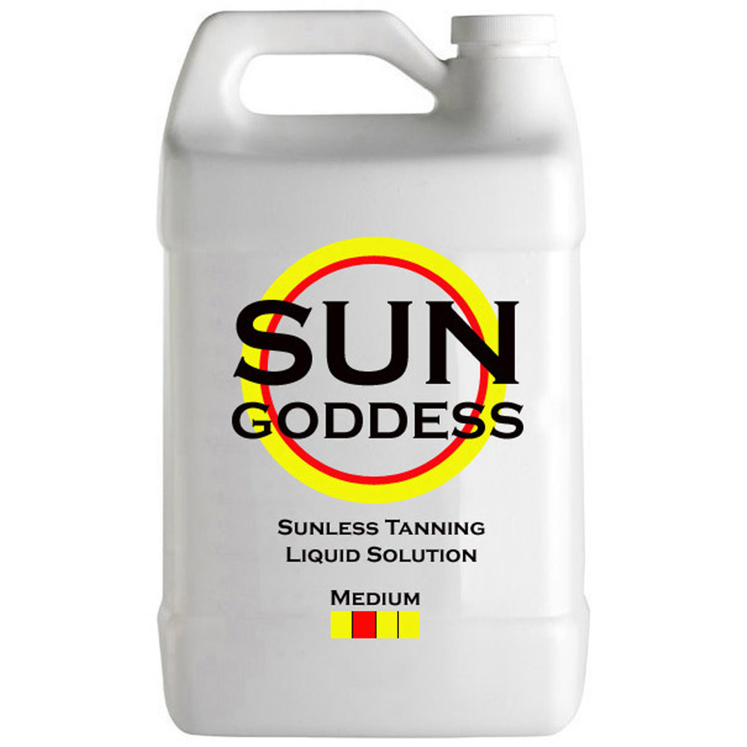 Spray Tanning Liquid Solution - Medium