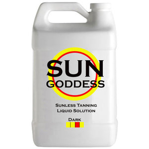 Sun Goddess - Spray Tanning Solution - Dark