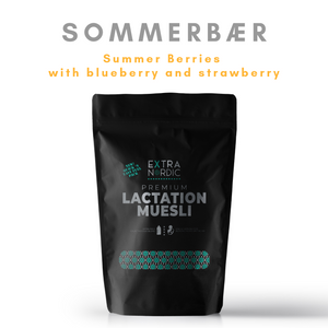 [Lactation Muesli] Sommerbær | Summer Berries (blueberry x strawberry)