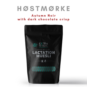[Lactation Muesli] Høstmørke | Autumn Noir (chocolate crisp)