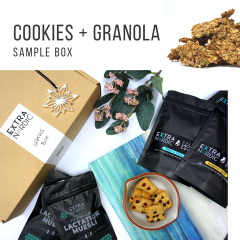 [Lactation] Cookies + Granola Sample Box
